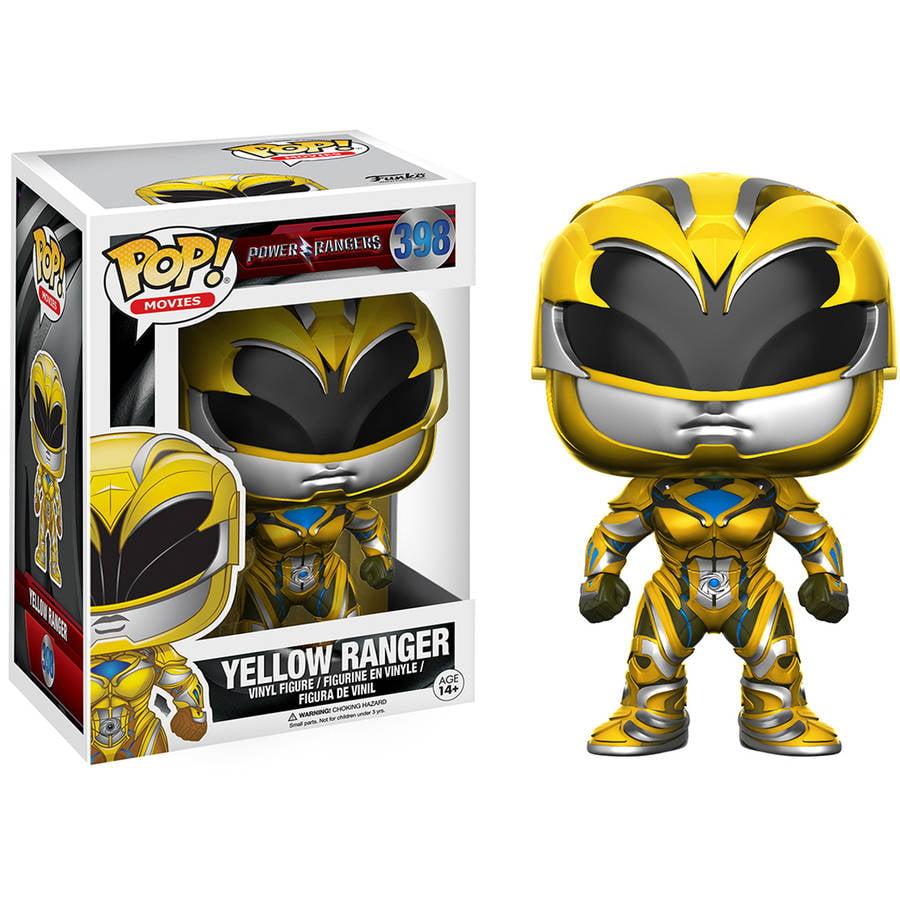 Funko POP! Movies Power Rangers, Yellow Ranger by Funko