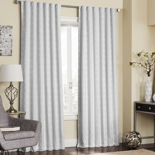 Eclipse Curtains Adalyn Thermalayer Blackout Single Curtain Panel