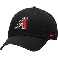Arizona Diamondbacks Nike MLB Heritage 86 Adjustable Performance Hat - Black - OSFA