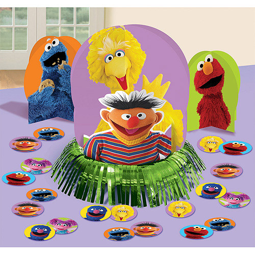 Sesame Street Centerpiece Decorating Kit