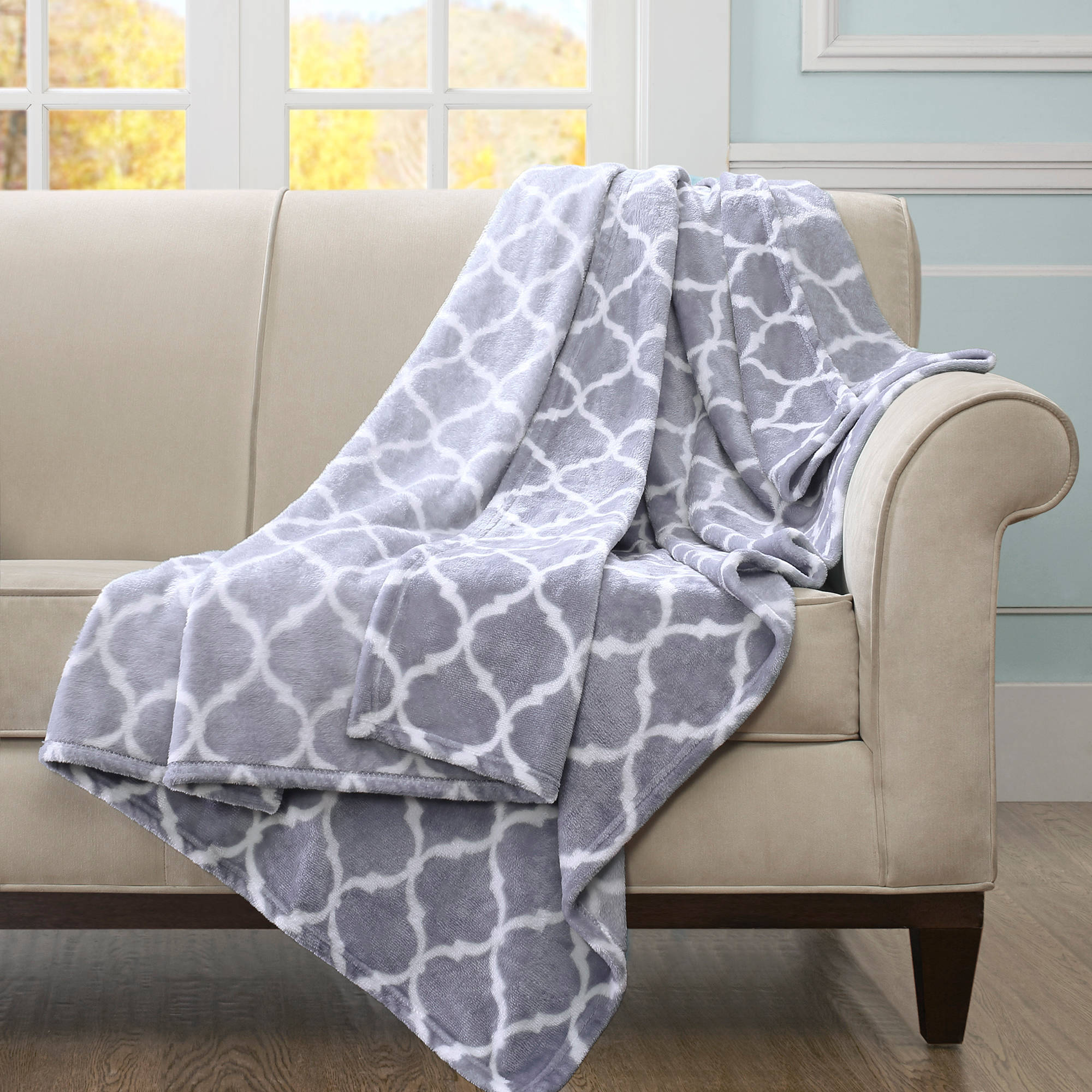 Home Essence Ogee Oversized Throw