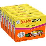 Sazon Goya Azafran Saffron Seasoning, 1.41 Ounce (6 Pack)