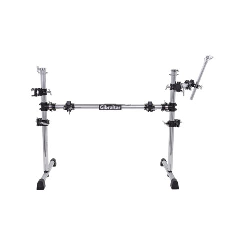 Gibraltar Multi-Purpose Rack E-Drum Pack E-Drum Bundle with Clamps for 3 Cymbals