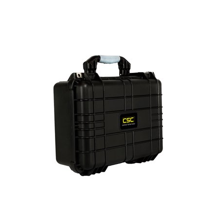 Premium Weatherproof Transmitter Case - Black - DIY Foam