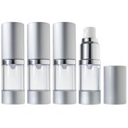 Airless Spray Bottle Refillable Travel Container - 10 ml / 0.34 oz (4 pack)