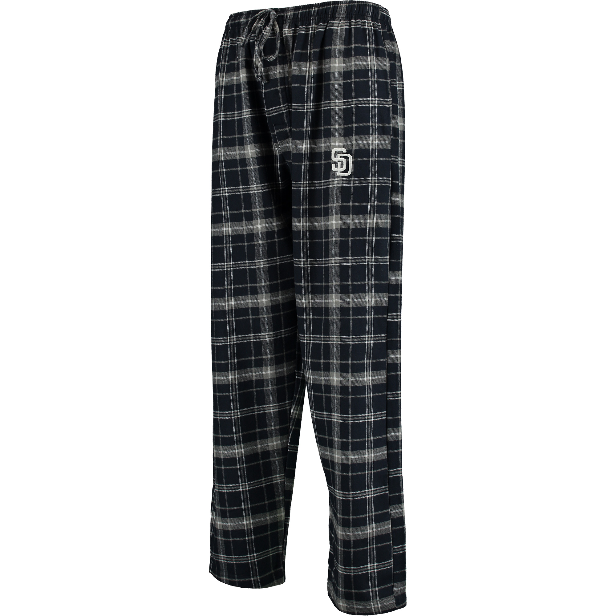 San Diego Padres Concepts Sport Ultimate Plaid Flannel Pants - Navy/Gray