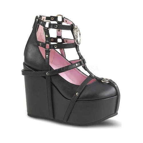 Women's Demonia Poison 25 1 Wedge by PleaserUSA