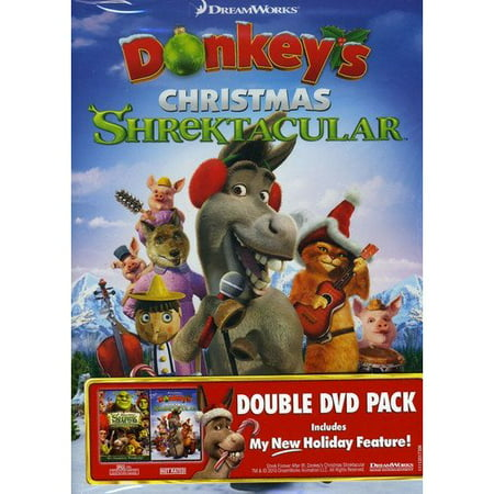 Shrek Forever After / Donkey's Christmas Shrektacular (Widescreen) - Myers Christmas Catalogue
