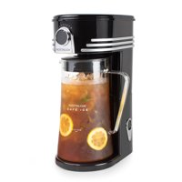 Nostalgia CI3BK Caf' Ice 3-Quart Iced Coffee and Tea Brewing System