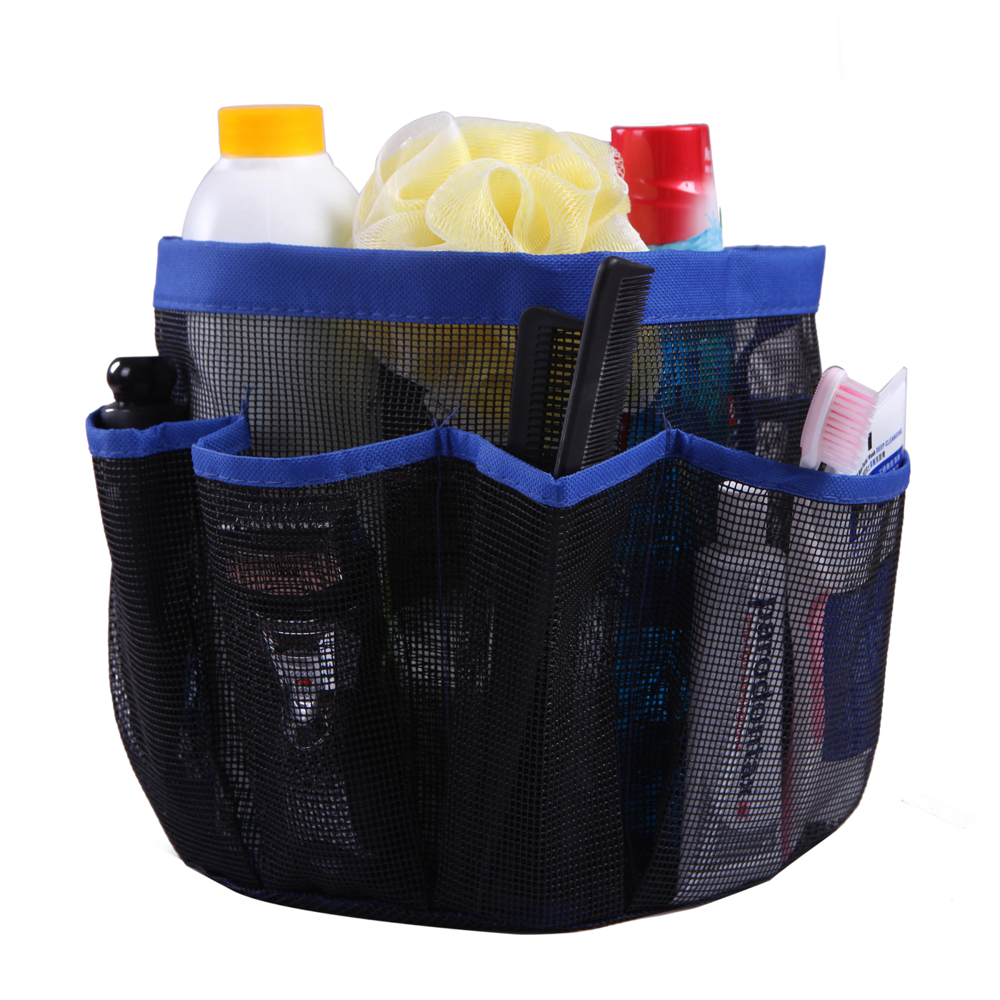 Hde Shower Caddy Mesh Bag College Dorm Bathroom Carry Tote