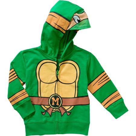 Teenage Mutant Ninja Turtles Costume Zip-up Hoodie Sweatshirt (Toddler Boys)