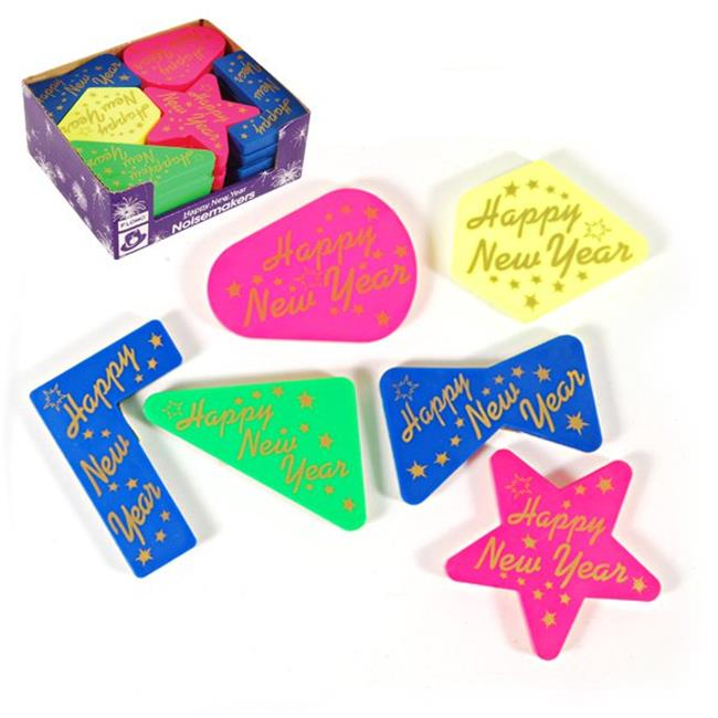 Eros F01-NY396D Happy New Year Noisemakers in Counter Top...