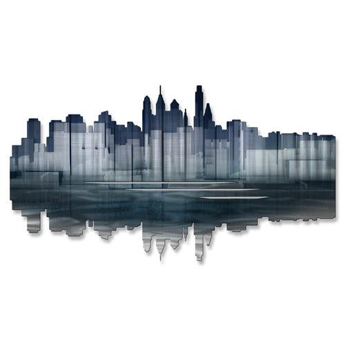 All My Walls Philadelphia Reflection Wall D cor