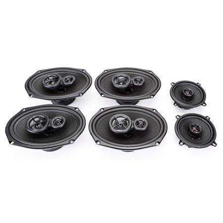 2008-2015 Dodge Grand Caravan Complete Premium Factory Replacement Speaker Package by Skar Audio