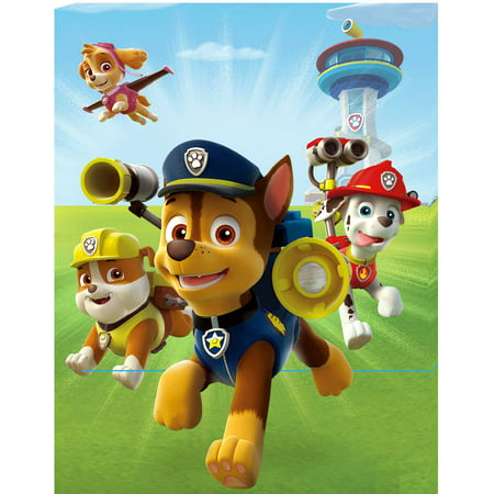 Paw Patrol B Portrait Canvas with LED
