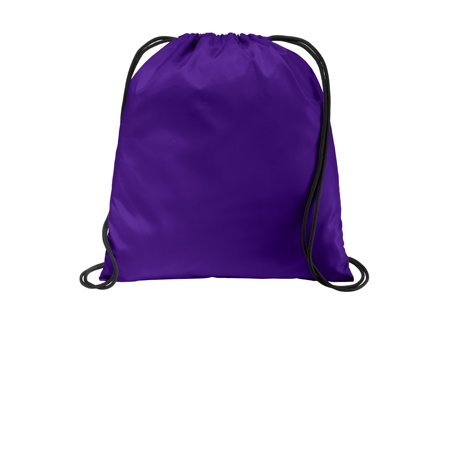 Port Authority® Ultra-Core Cinch Pack. Bg615 Purple Osfa - image 1 of 1