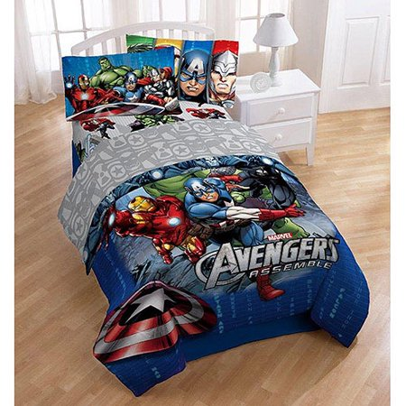 Avengers Bedding Collection Walmart Com