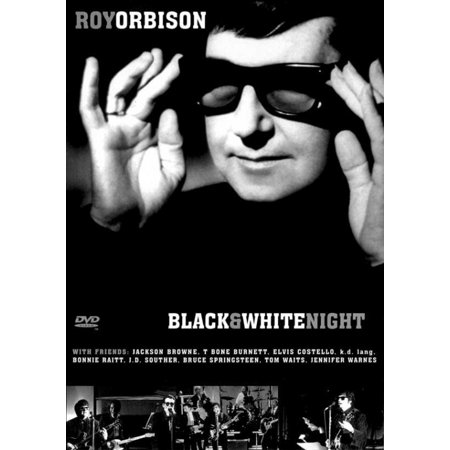 Roy Orbison and Friends A Black and White Night Movie Poster (11 x