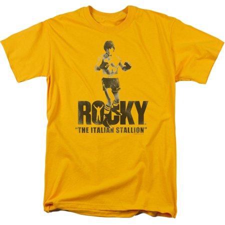 Italian Short - MGM Rocky The Italian Stallion Mens Short Sleeve Shirt