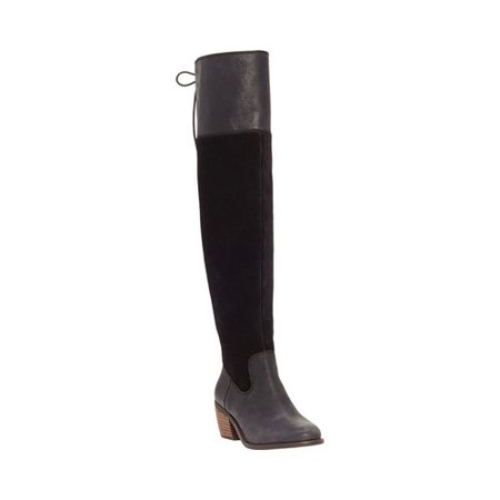1a6c414b67c Lucky Brand - Women s Lucky Brand Komah Wide Calf Knee High Boot -  Walmart.com
