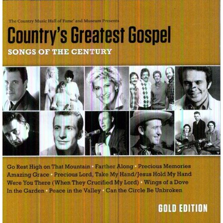 Country's Greatest Gospel: Songs Of The Century - Gold - Classic Country Halloween Songs