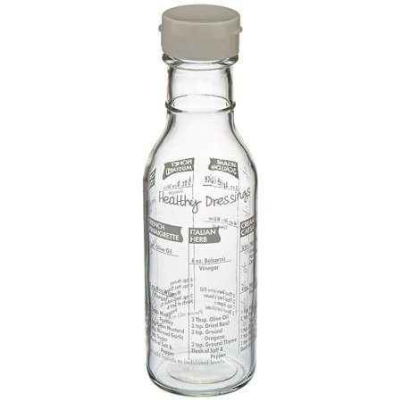 Salad Dressing Maker, Measures: 8.25 x 2.75 x 2.75 / 21cm x 7cm x 7cm; Capacity: 11oz / 330ml By Norpro