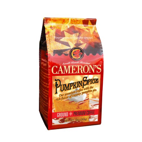 Cameron?s Pumpkin Spice Ground Coffee, 10 oz