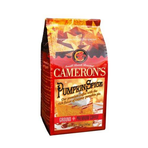 Cameron?s Pumpkin Spice Ground Coffee, 10 oz