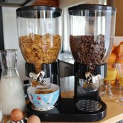 Best Cereal Dispensers - AOOLIVE 5L Double Chamber Dry Food Cereal Dispenser Review