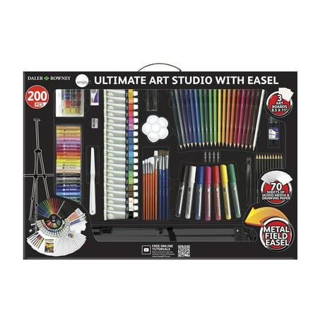 Daler Rowney Simply Ultimate Studio Art Set 200 Piece