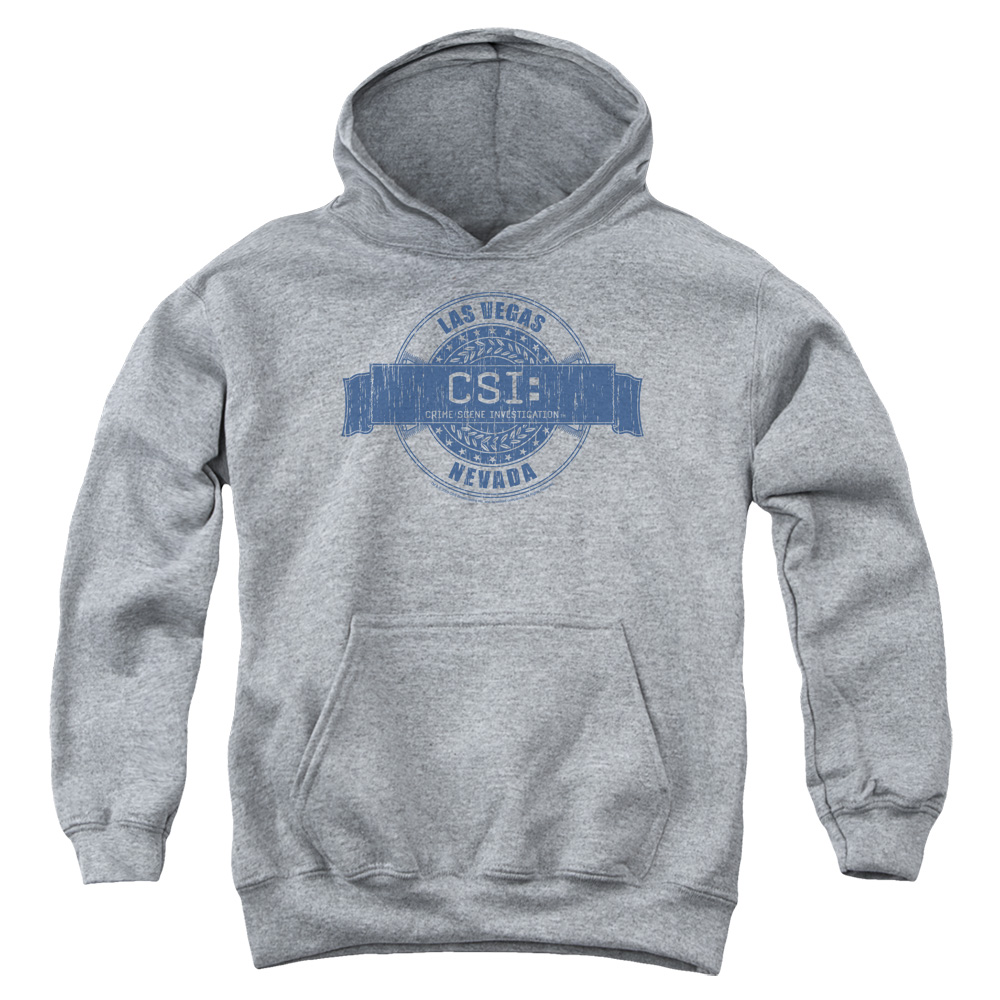 CSI Vegas Badge Big Boys Pullover Hoodie