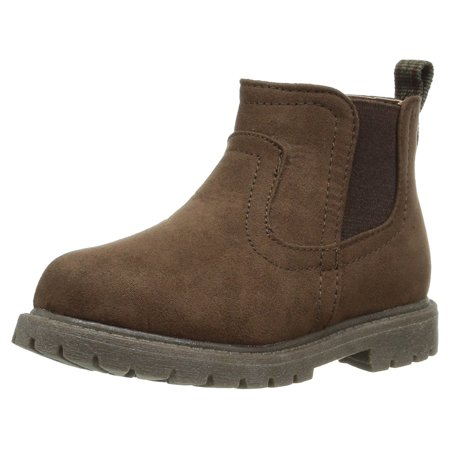 af2dd0b68f4 Carter's - Carter's Kids' Boys' Cooper2 Fashion Chelsea Boot, Brown, Size 5  M Us Toddler - Walmart.com