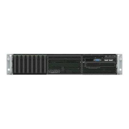 Intel Server System R2208WFQZS Barebone System - 2U Rack-mountable - Intel C628 Chipset - Socket P LGA-3647 - 2 x Processor Support (Server I5)