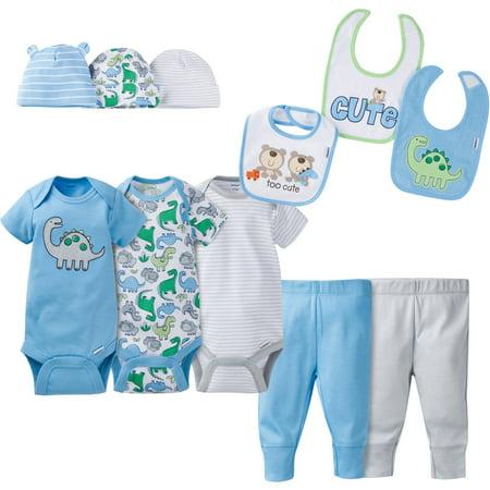10298c1945 Newborn Baby Boy Perfect Baby Shower Gift Layette Set, 11-Piece