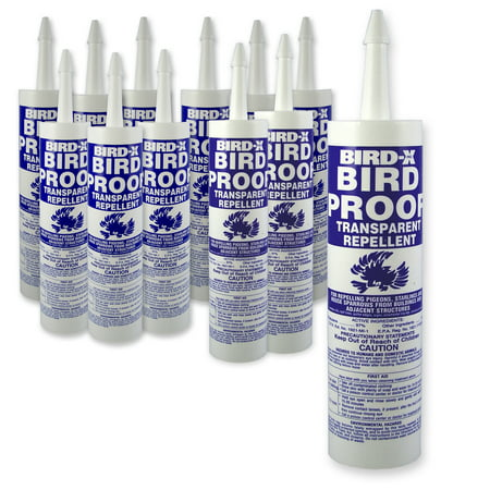 Bird-X Bird Proof Transparent Repellent (12 pk)