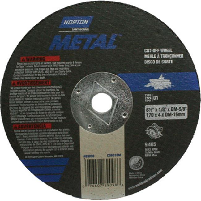 Norton 159949 Cutoff Blade - 6.25 in. dia. - image 1 of 1