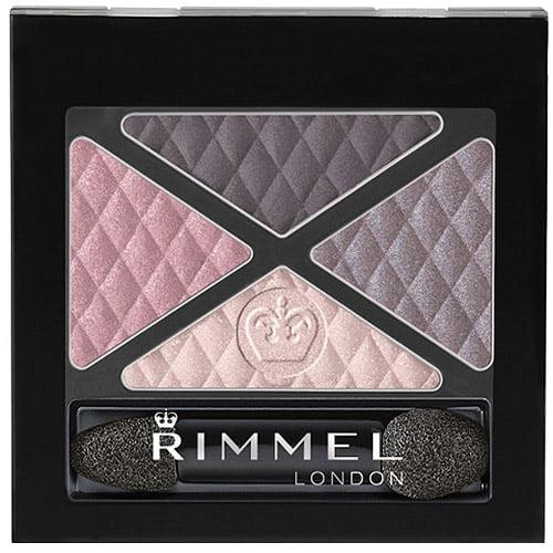 Rimmel Glam'Eyes Quad Eye Shadow, 003 Smokey Purple, 0.15 oz