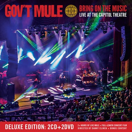 Bring On The Music - Live At The Capitol Theatre (CD) (Includes DVD)](Halloween Cd Music)