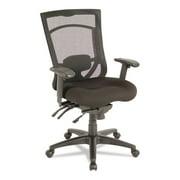 Alera Ex Series Mesh Multifunction High-Back Chair, Black