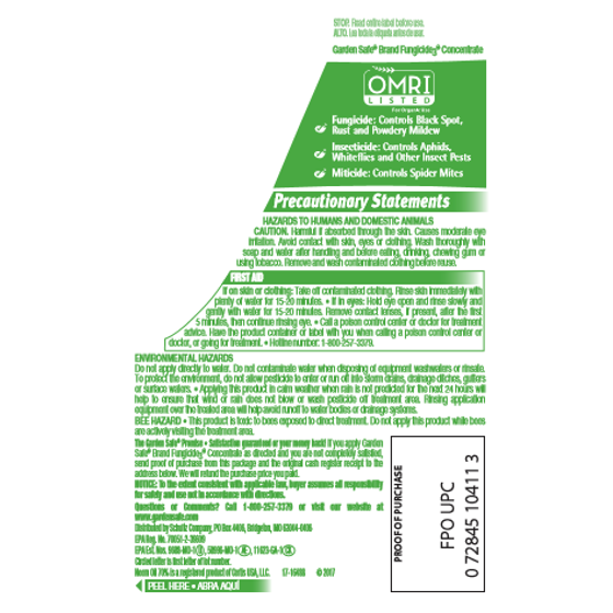 Garden Safe Fungicide Concentrate, Three-In-One, 20-Ounce - Walmart.com