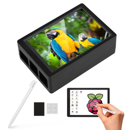 3.5 Inch TFT LCD Display with Touch Screen, Touch Pen, 3 Heat Sinks for Raspberry Pi 3 Model B+, 3 Mode B,Pi 2 Model B, Pi
