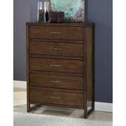 Modus Furniture Uptown 5-Drawer Chest, Truffle