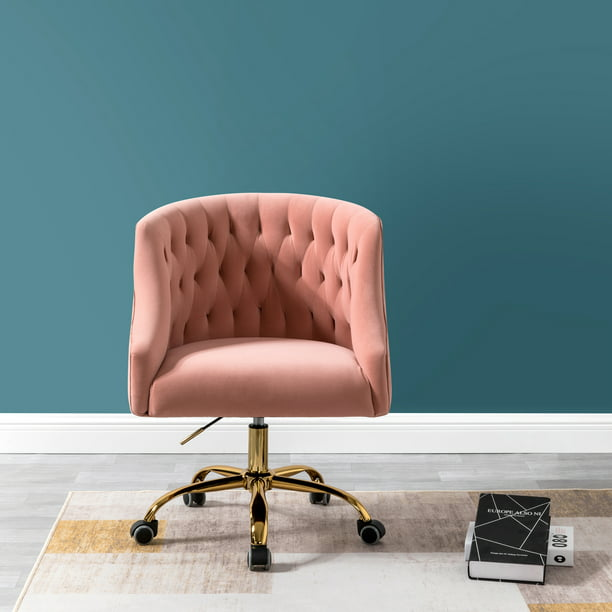 Lydia Vanity Chair for Home Living Room in Pink