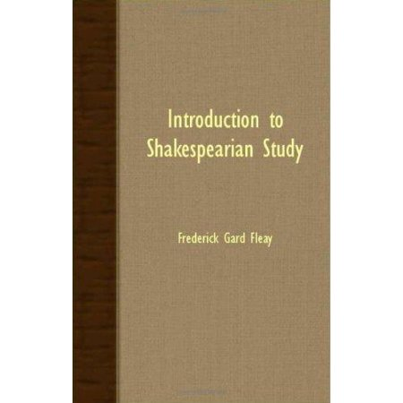 Introduction to Shakespearian Study - image 1 of 1