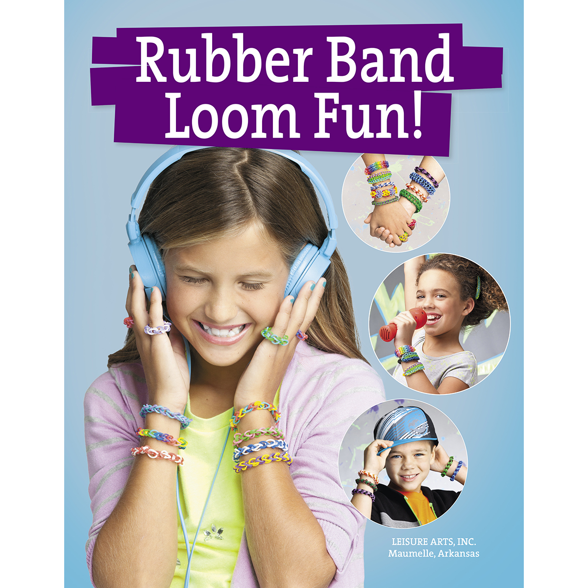 Leisure Arts-Rubber Band Loom Fun