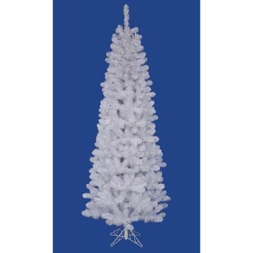 4.5' White Salem Pine Pencil Artificial Christmas Tree - Unlit