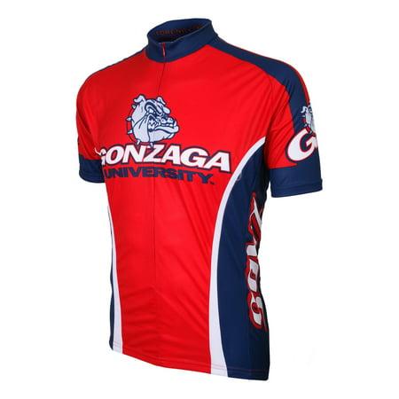 Adrenaline Promotions Gonzaga University Bulldog Cycling Jersey