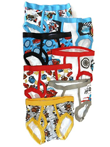 Handcraft Little Boys' Disney Cars 7 Pack Brief
