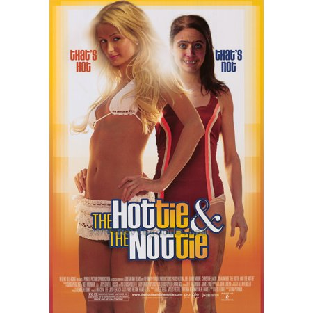 The Hottie and the Nottie POSTER Movie (27x40)](Halloween Atcs)
