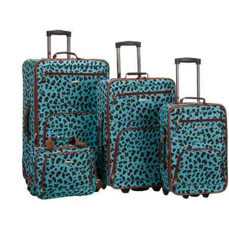 Rockland Safari 4-Piece Luggage Set